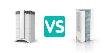 مقایسه دستگاه تصفیه هوای IQ air با نوجان N300